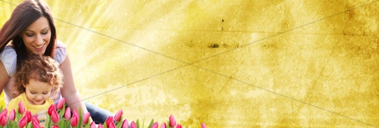 Mom and Child Web Banner