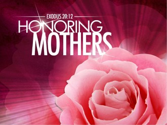 Honoring Mother's PowerPoint Sermon Template