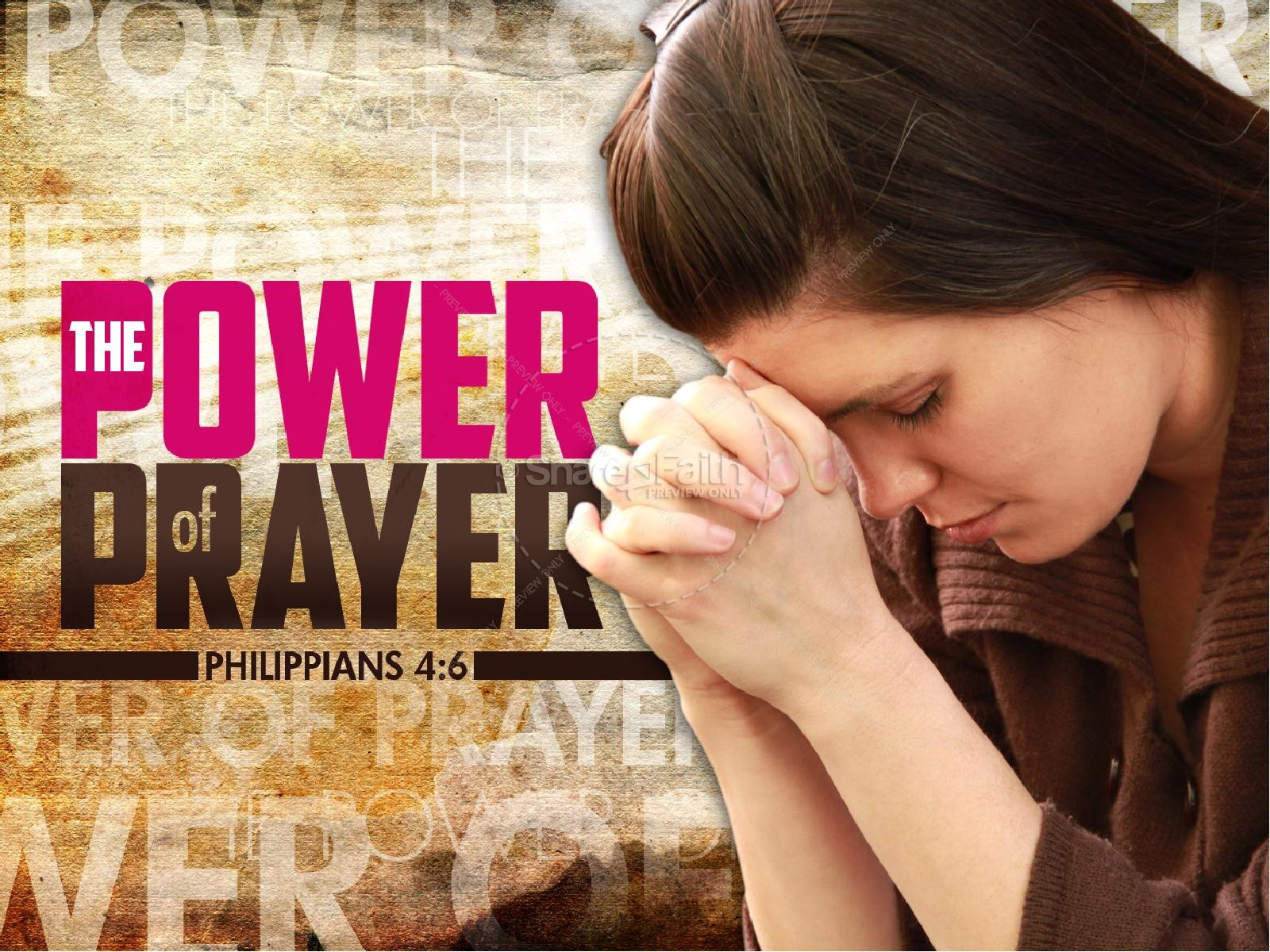 Power of Prayer PowerPoint | slide 1