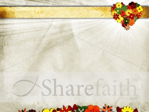 Heart Flower Worship Background
