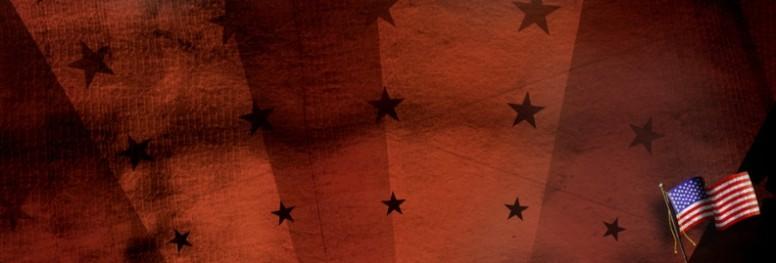 American Flag Web Banner