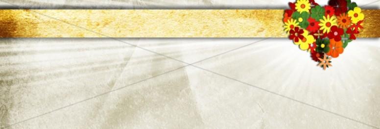 Heart Flower Web Banner