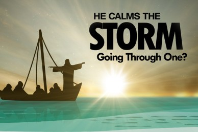 He Calms the Storm Church Video