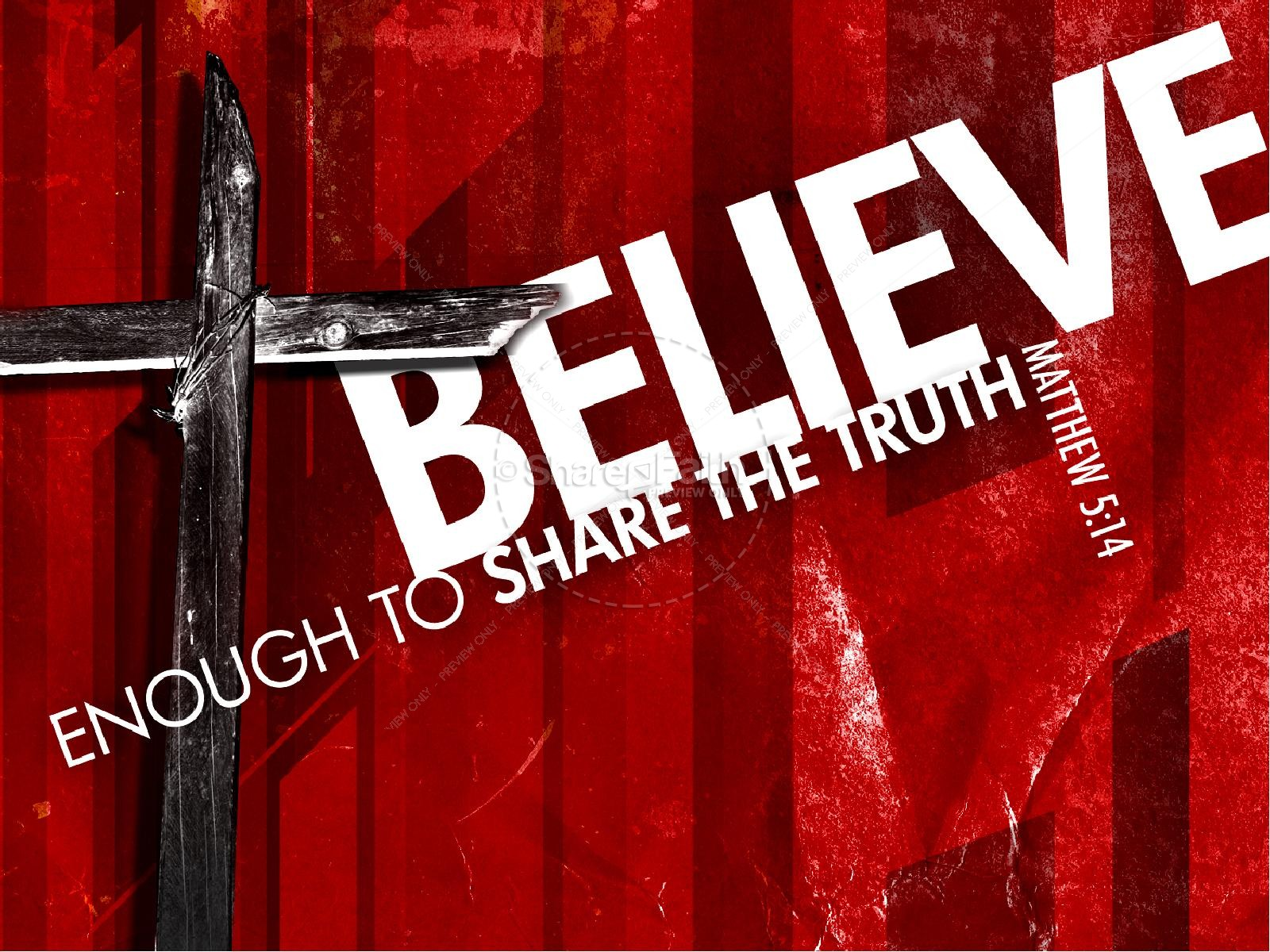 Believe PowerPoint Sermon