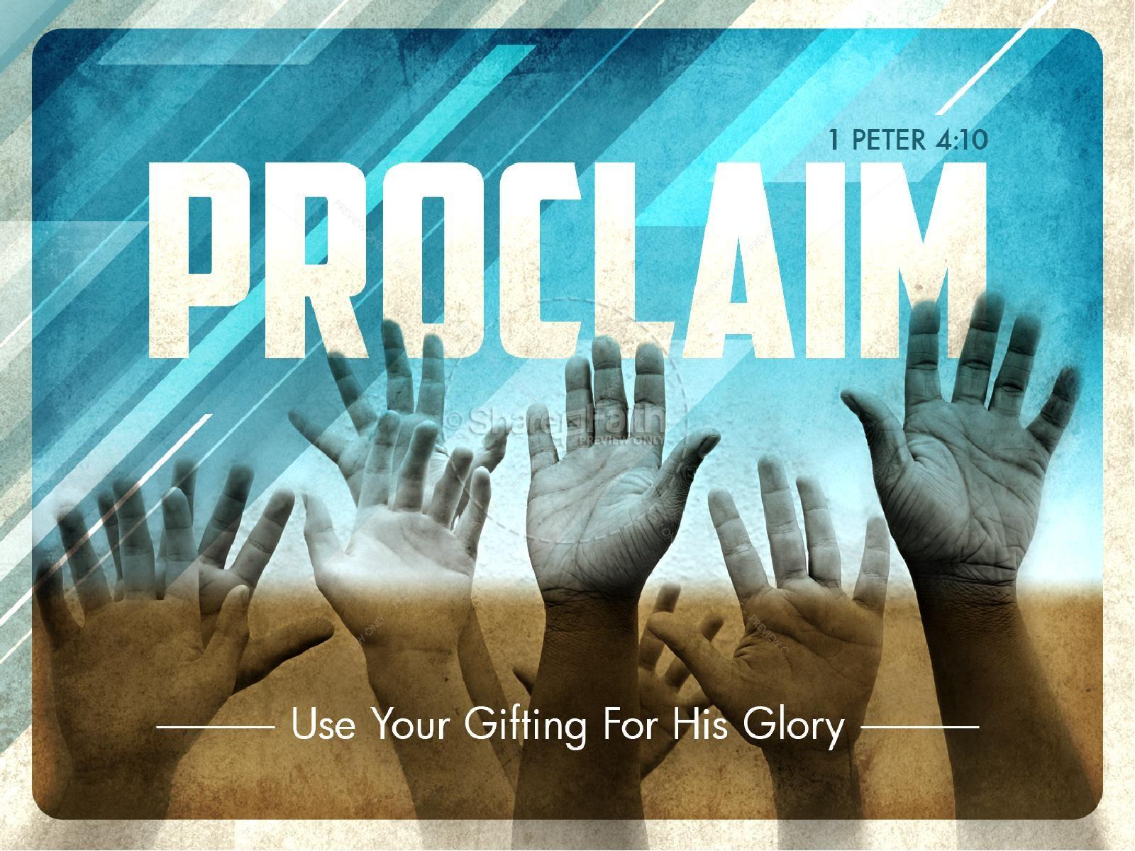Proclaim PowerPoint