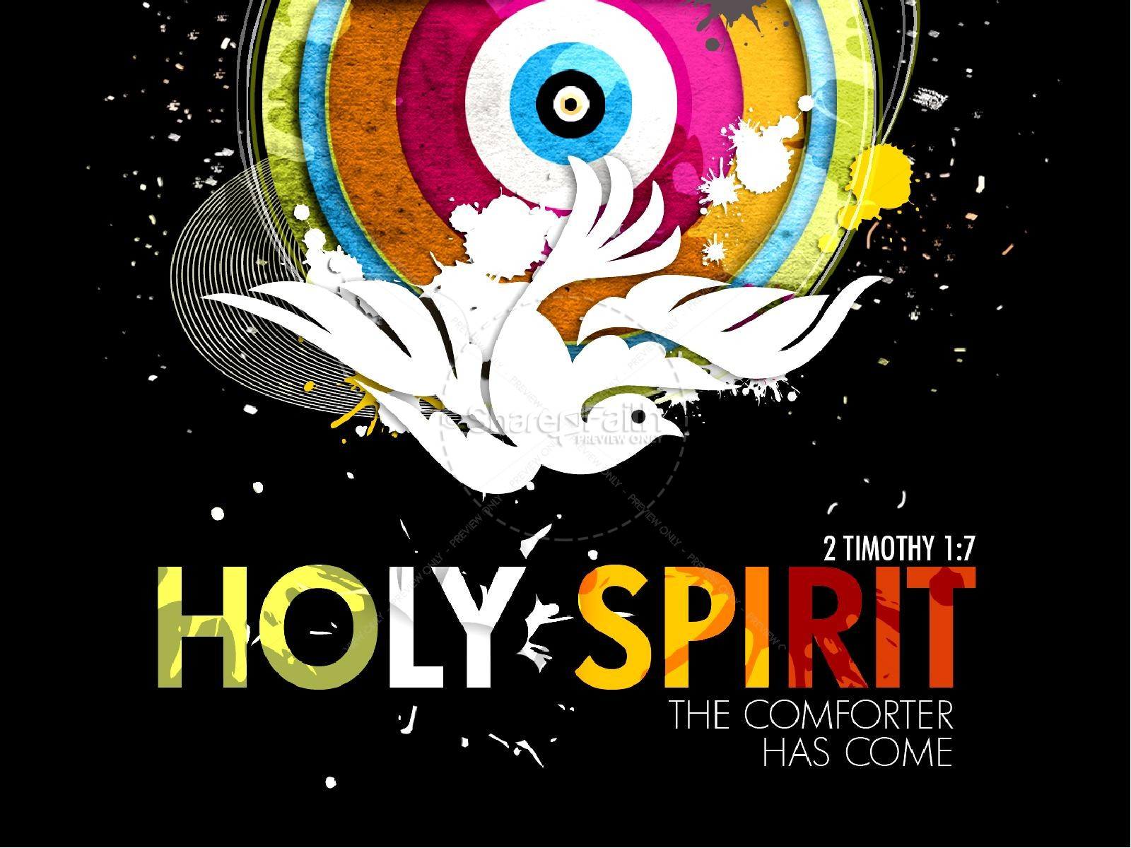 Holy Spirit Sermon PowerPoint