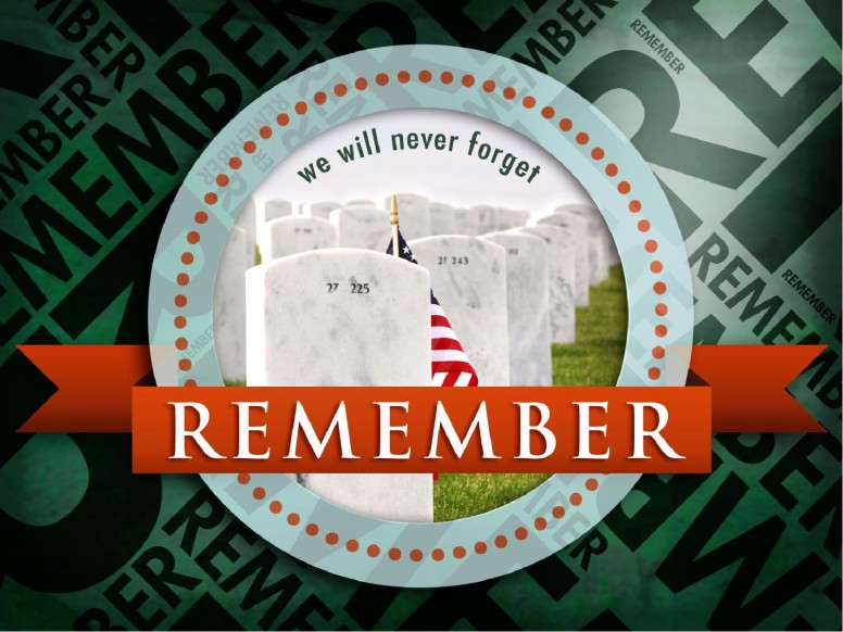 Memorial Day Remember PowerPoint