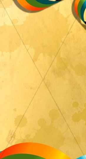 Gold Colored Website Sidebar