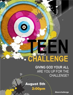 Youth Church Flyer Templates