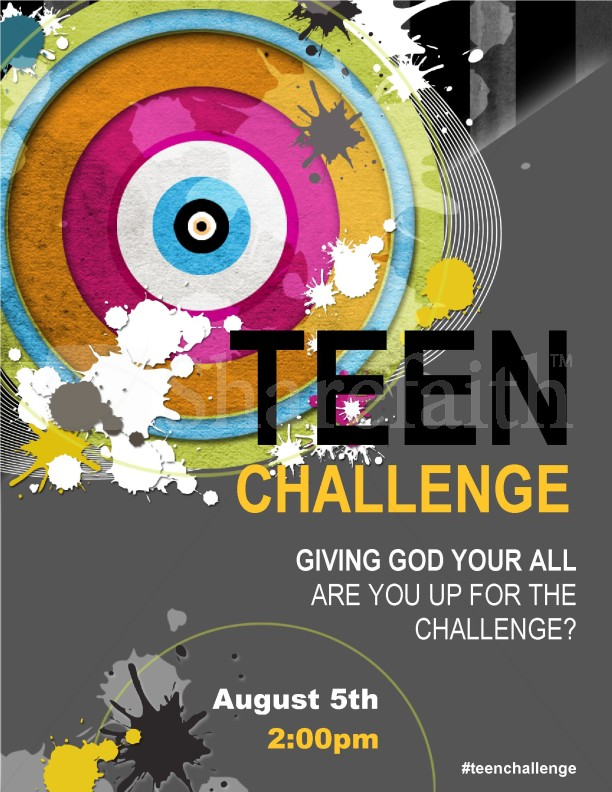 Youth Church Flyer Templates Template | Flyer Templates