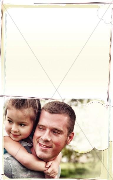 Father's Wisdom Bulletin Cover