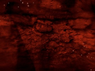 Red Texture Worship Background