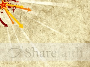 Arrows and Stars Worship Background
