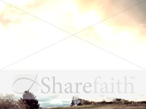 Nature Sky Worship Background