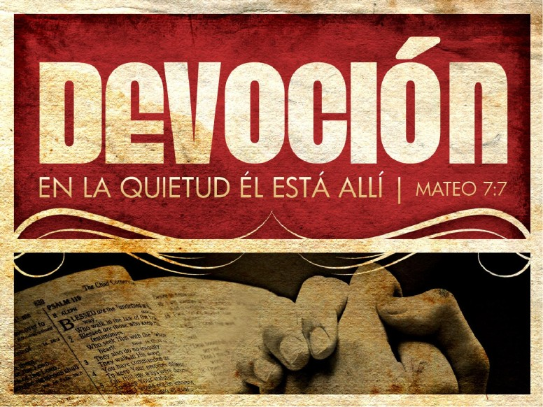 Devocion PowerPoint Sermon