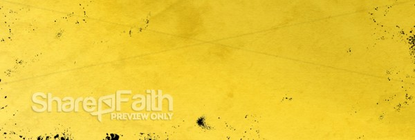 Yellow Website Banner