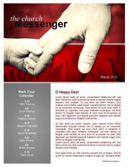 Father's Day Newsletter Template