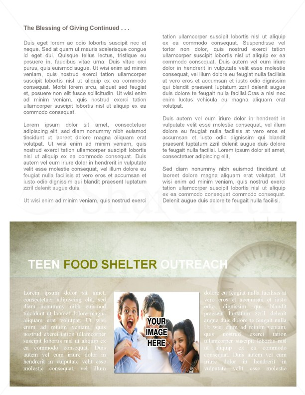 Missionary Outreach Church Newsletter | page 2