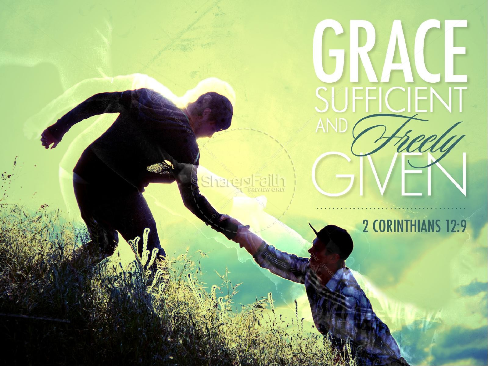 Grace Sufficient PowerPoint Sermon