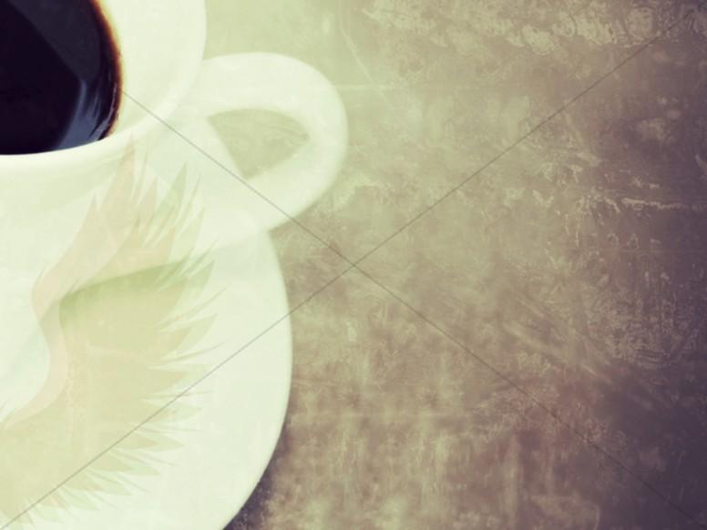 Coffee Worship Background