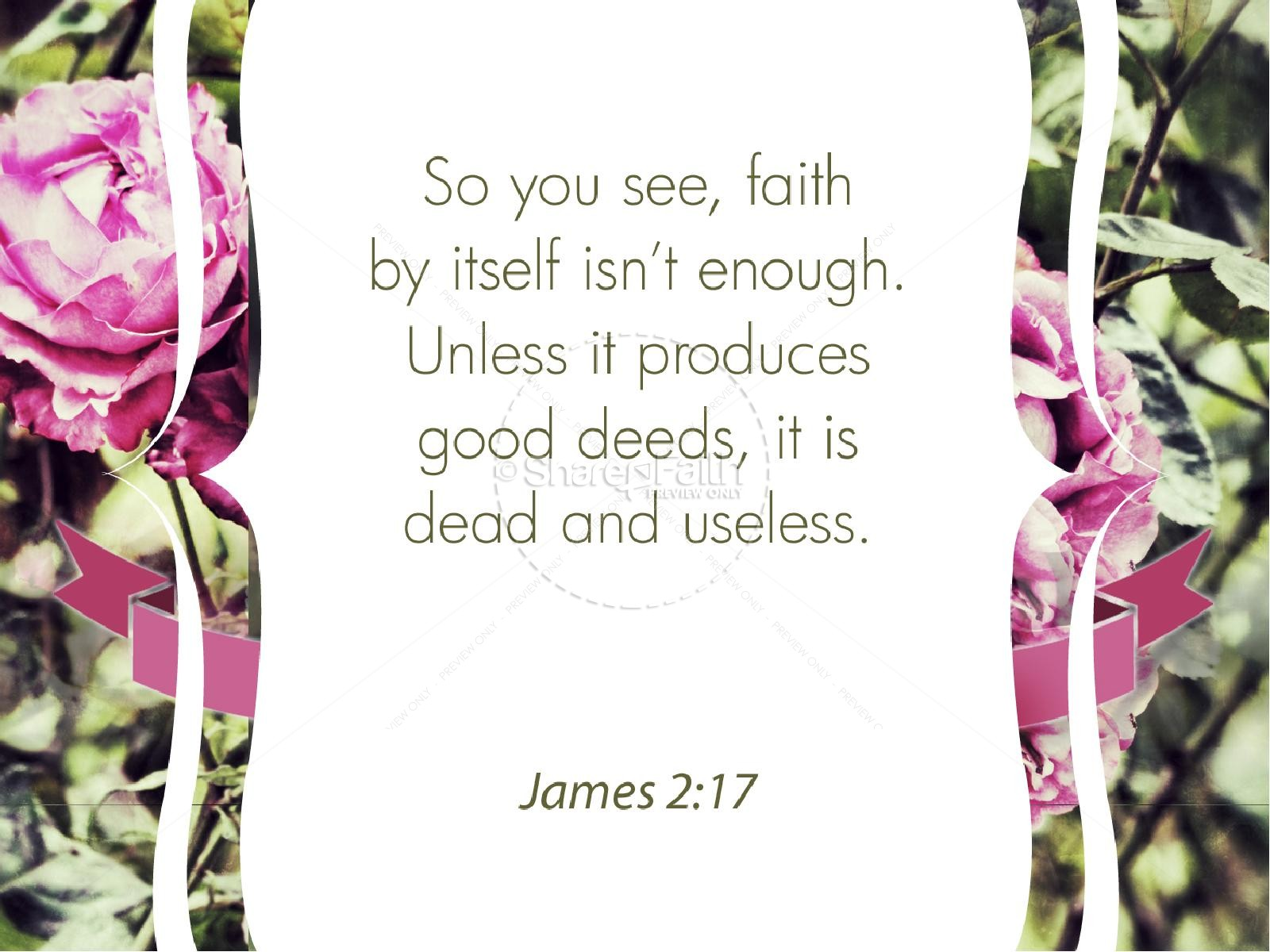 Faith and Works PowerPoint