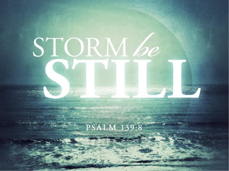 Storm Be Still PowerPoint Sermon