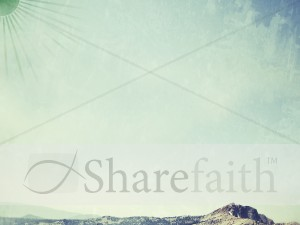 Mountaintop Worship Background