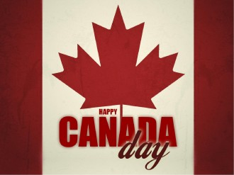 Happy Canada Day PowerPoint Template