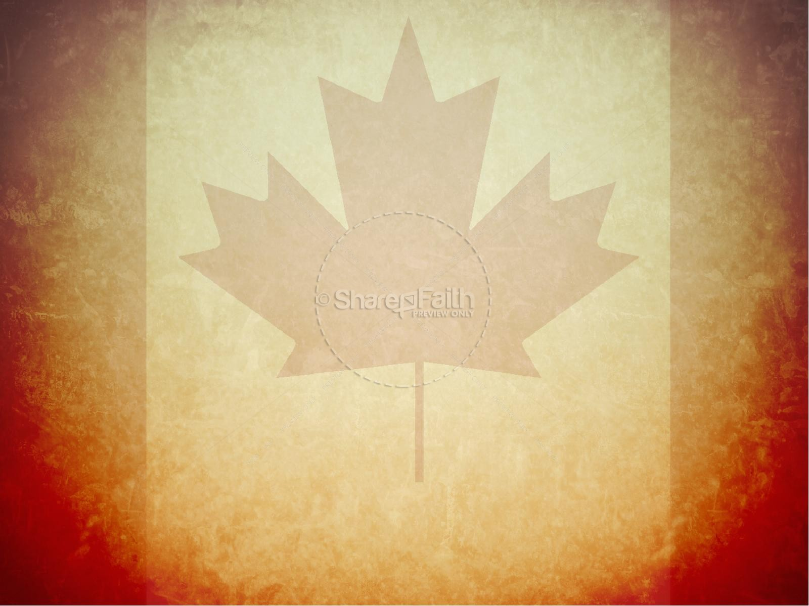 happy canada day powerpoint template independence day