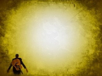 Yellow Light Worship Background