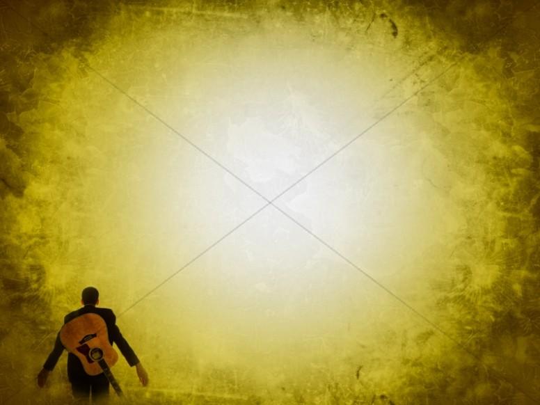 Yellow Light Worship Background