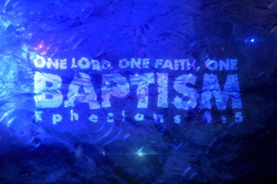 One Lord, One Faith, One Baptism Church VIdeo Loop
