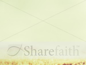 Field Scenery Worship Background