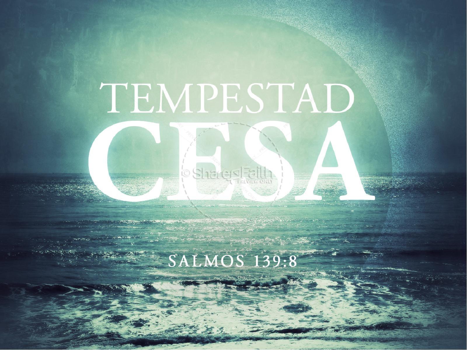 Tempestad Cesa PowerPoint Sermon