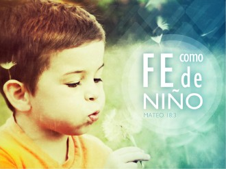 Fe Como De Nino PowerPoint Sermon