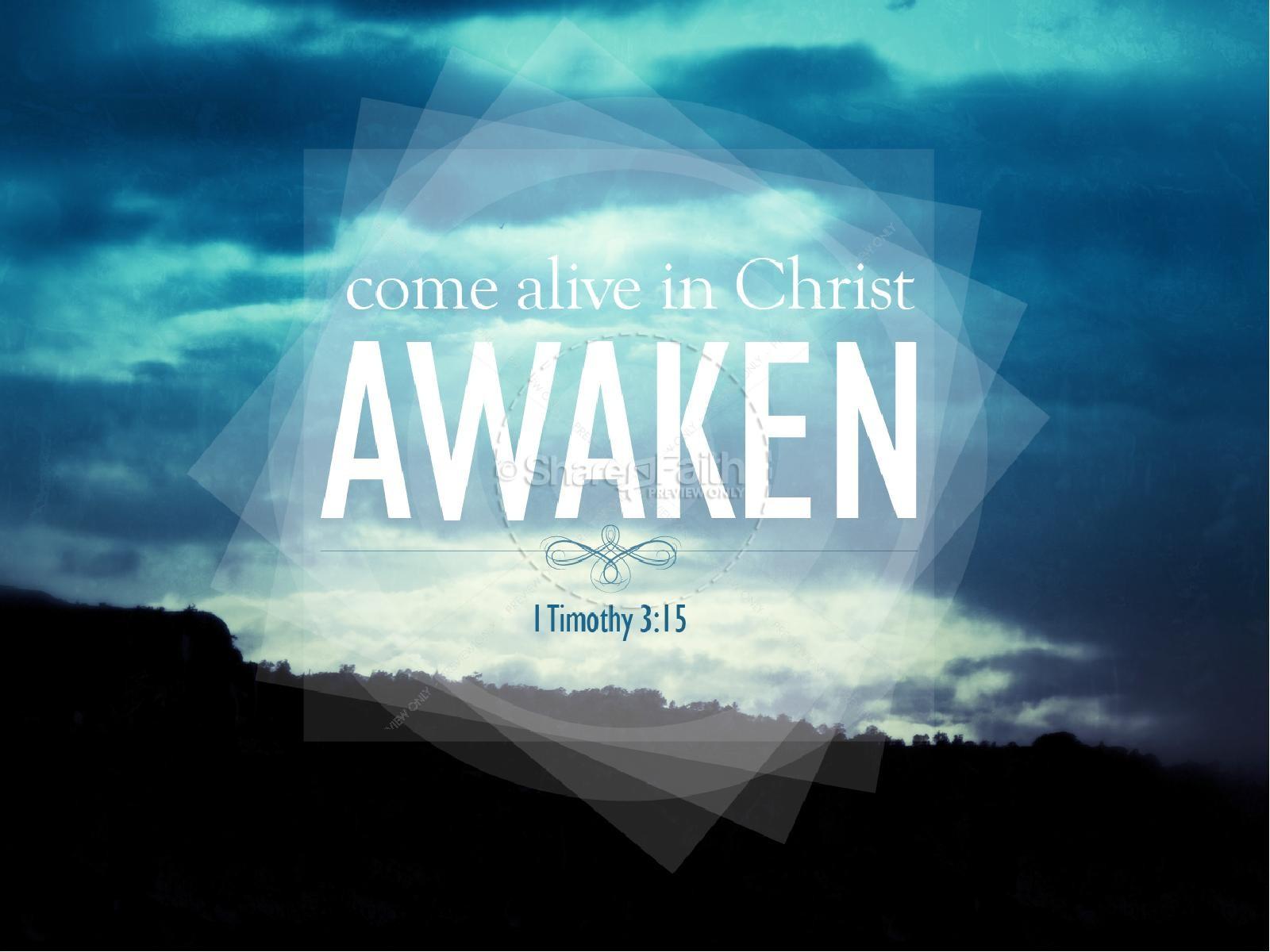 Alive in Christ PowerPoint Sermon
