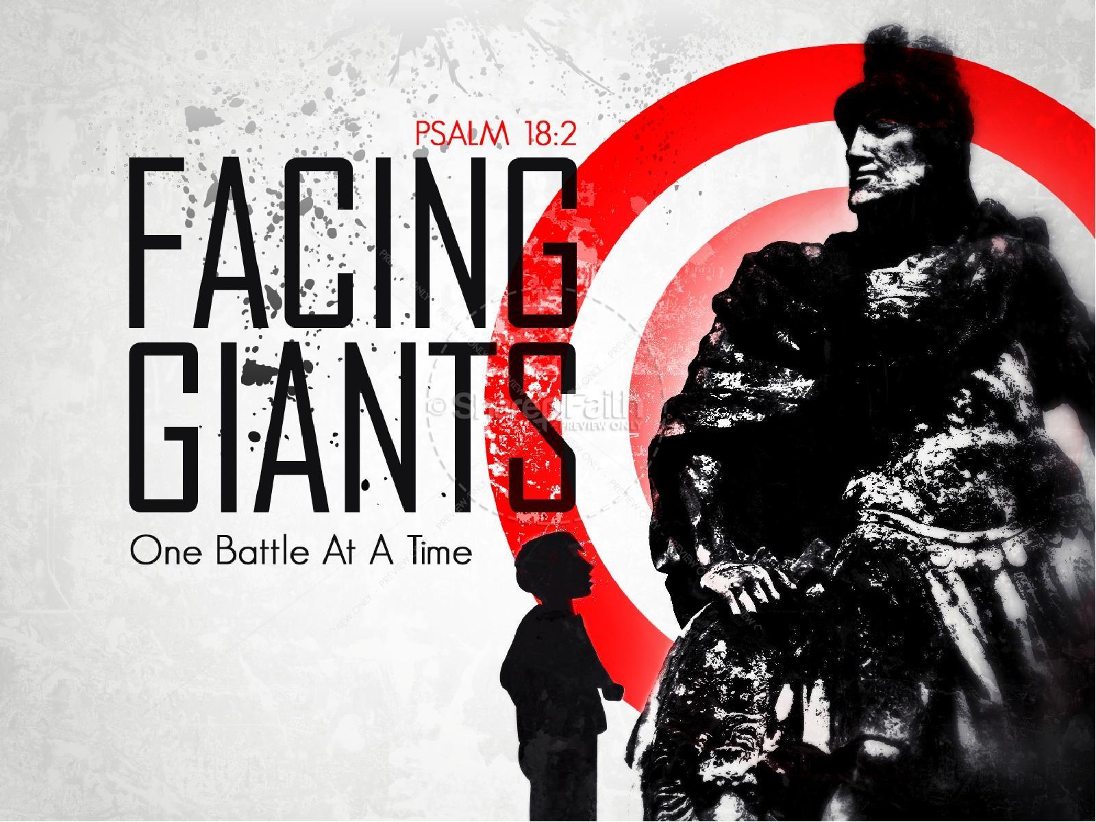 Facing Giants PowerPoint Sermon