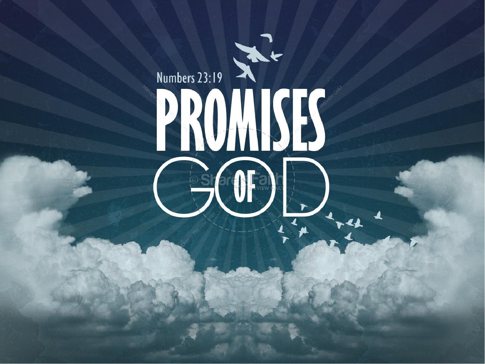 Promises of God PowerPoint Sermon