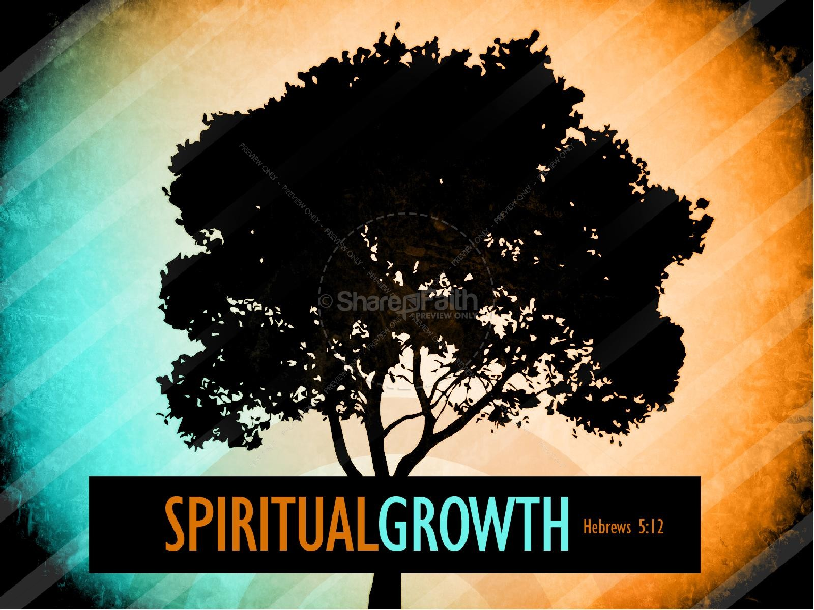 Spiritual Growth PowerPoint Sermon | slide 1