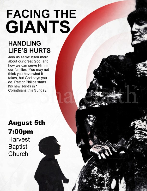 Facing the Giants Flyer | page 1