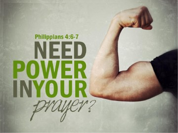 Power in Prayer PowerPoint Sermon