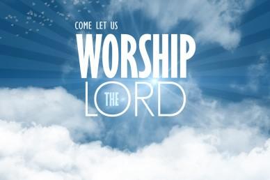 Worship the Lord Church Video Loop