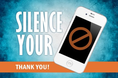 Silence Your Phone Church Loop