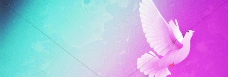 Holy Spirit Dove Website Banner