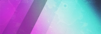 Pink and Blue Website Banner