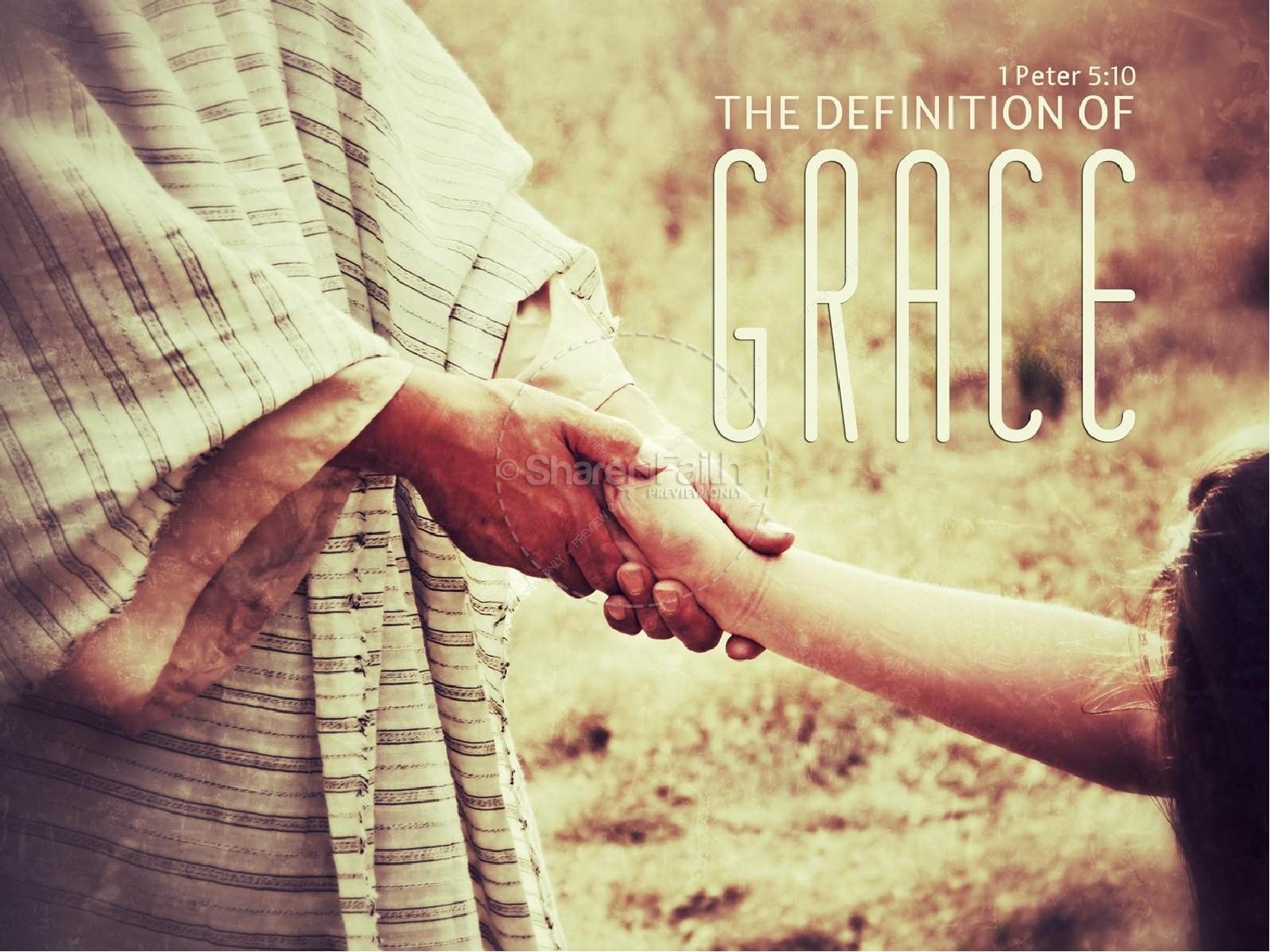 Grace PowerPoint Sermon Template