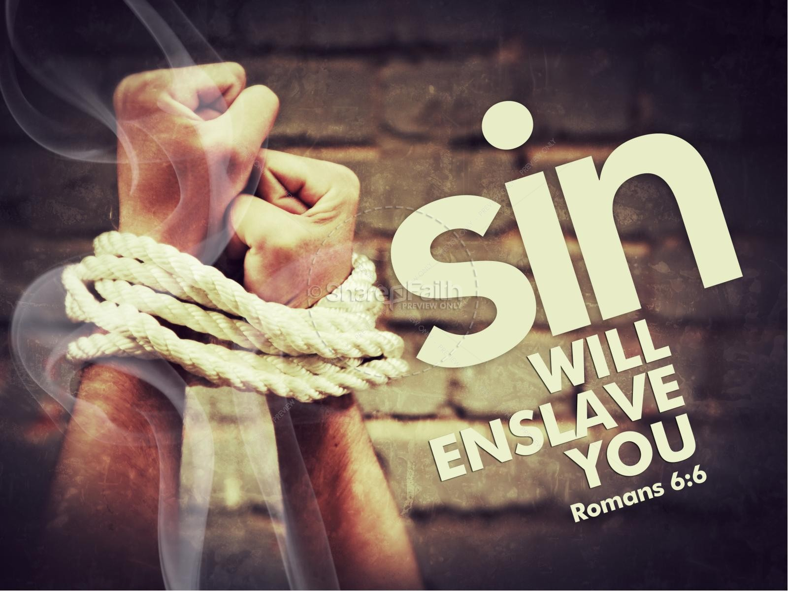Slavery of Sin PowerPoint Sermon
