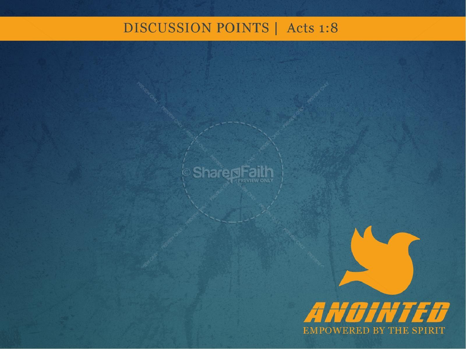 Anointed PowerPoint Sermon