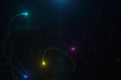 Streaks of Light Motion Worship Loop