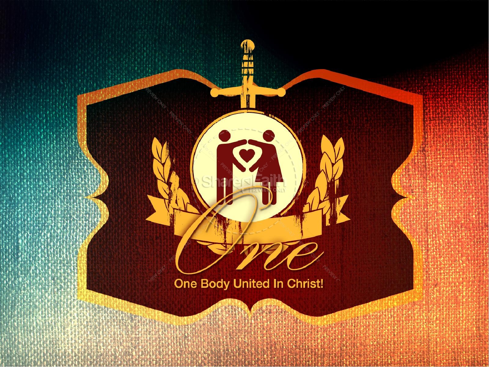 Unity in Christ PowerPoint Sermon | slide 1